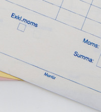 Trycka följesedlar - arbetsordrar - maskinrapporter